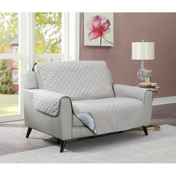 Protector Box Cushion Loveseat Slipcover By Ebern Designs