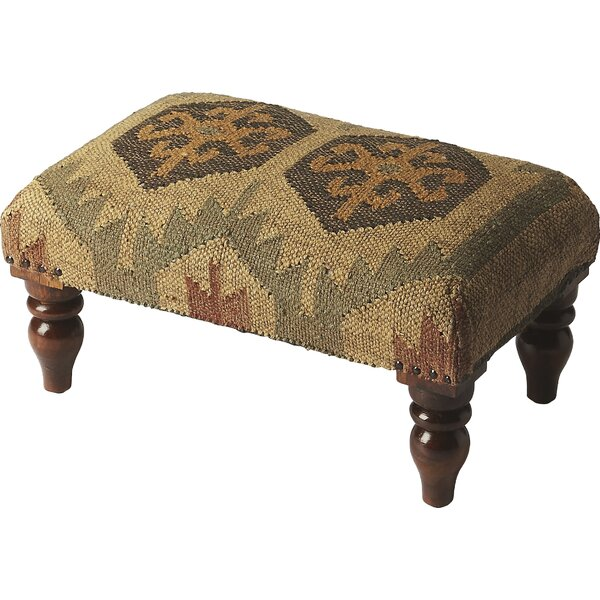 Ptarmigan Berino Jute Vanity Stool by Loon Peak
