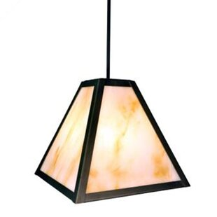 Best Price Timber Ridge 1-Light Outdoor Pendant By Steel Partners