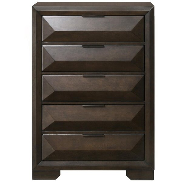 Galeano 5 Drawer Chest by Brayden Studio