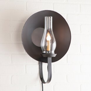 Read Reviews Villanova Glass Globe 1-Light Candle Wall Light By Gracie Oaks