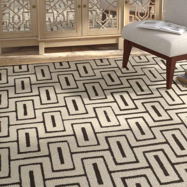 Syed Hand Knotted Wool/Cotton Ivory Area Rug by Bloomsbury Market