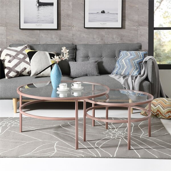 Riverina 3 Legs 2 Nesting Table By Ivy Bronx