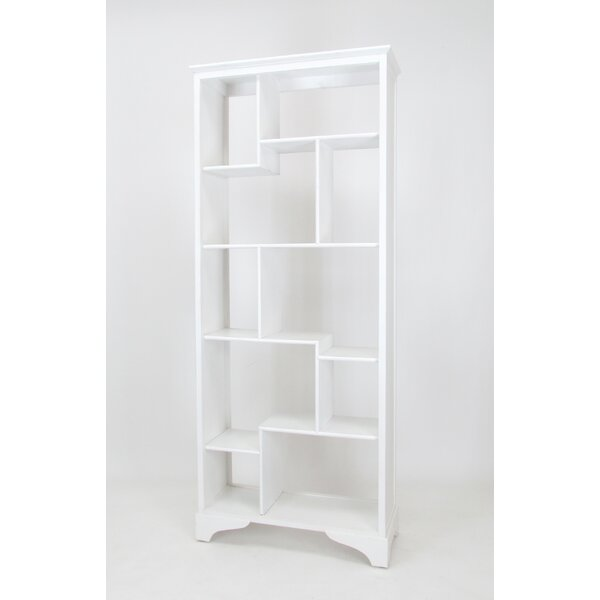 Framingham Geometric Bookcase By August Grove