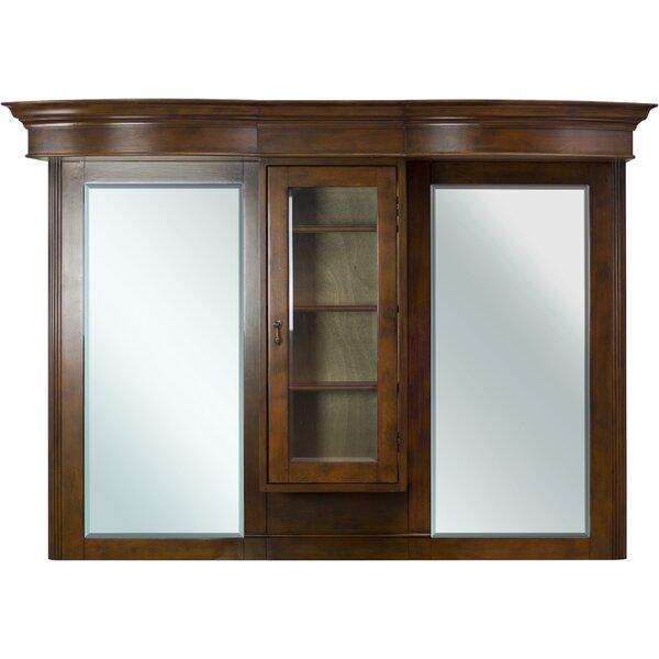 Traditional Birch Wood-Veneer Wall Mirror
