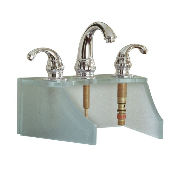 Drains and Accessories Frosted Glass Faucet Stand by DECOLAV