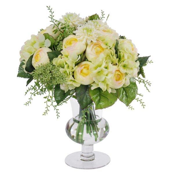 Mixed Centerpiece in Decorative Vase by Jane Seymour Botanicals