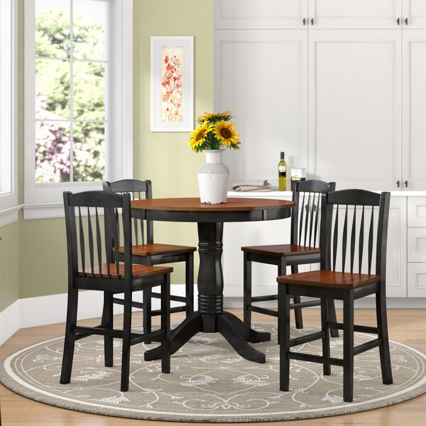 Tighe 5 Piece Dining Set by August Grove