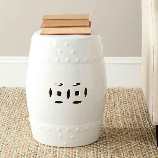 Gagnon Ceramic Garden Stool By Charlton Home