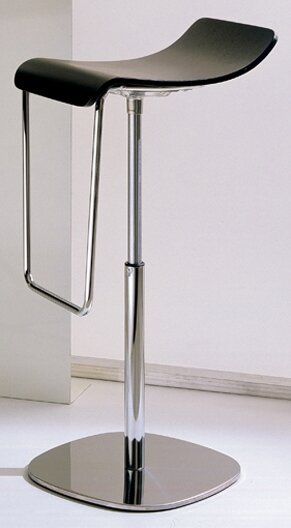 Gas Adjustable Height Swivel Bar Stool by Bontempi Casa