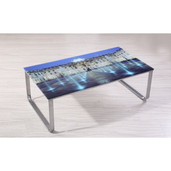 Shelia Scene Decor Coffee Table By Ebern Designs