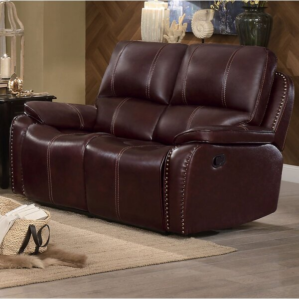 Beyonce Upholstered Dual Recliner Loveseat by Red Barrel Studio