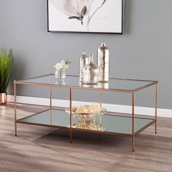 Janelle 4 Legs Coffee Table By Willa Arlo Interiors