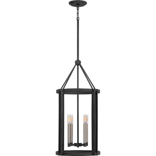 Clearbrook 4 - Light Lantern Square Chandelier By Williston Forge