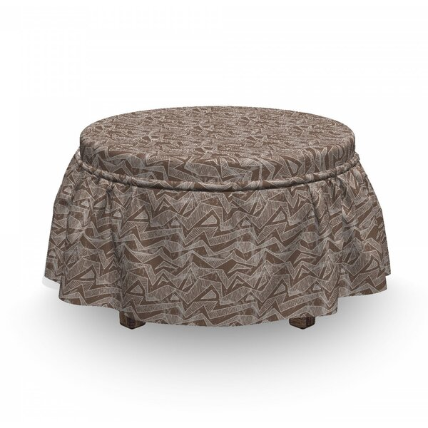 Art Ottoman Slipcover (Set Of 2) By East Urban Home