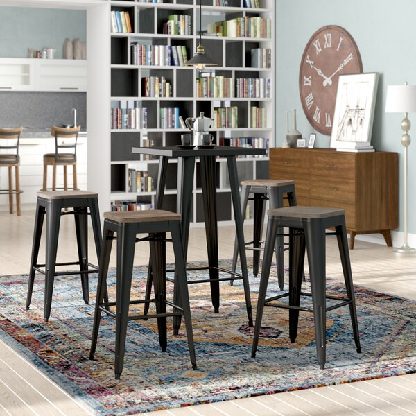 Racheal Loft 5 Piece Pub Table Set by Trent Austin Design