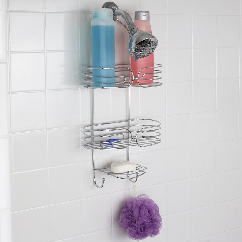 Home Basics Shower Caddy & Reviews | Wayfair
