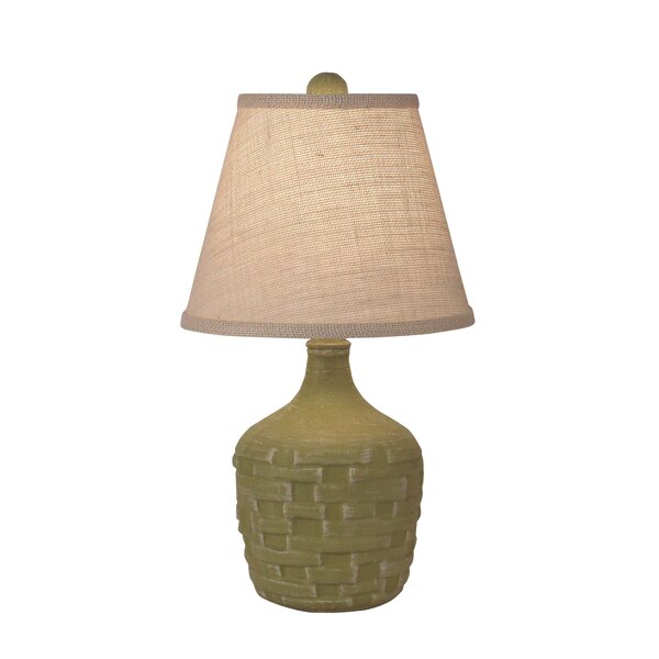 Sint Short Thatched 19 Table Lamp by Bay Isle Home