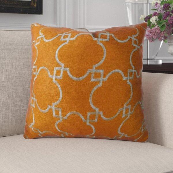 Baisley Handmade Luxury Pillow by Canora Grey