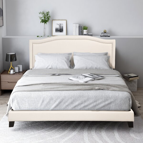 Westhampton Upholstered Standard Bed by Red Barrel Studio