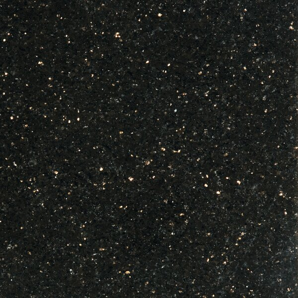 Granite 12 x 12 Tile in Galax y Black by Emser Tile