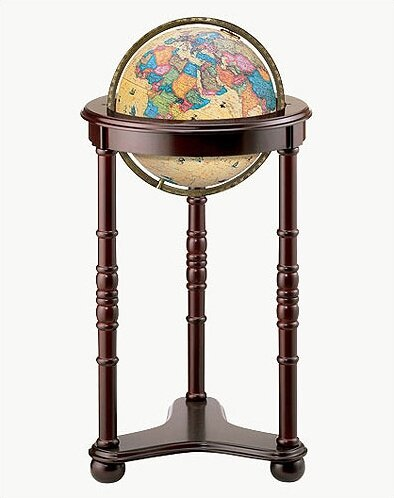 Lancaster Antique World Globe by Replogle Globes