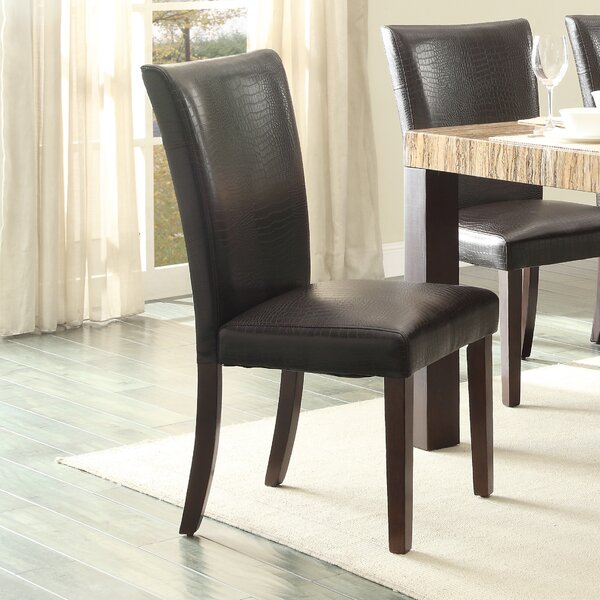 Asloune Parsons Chair (Set of 2) by World Menagerie