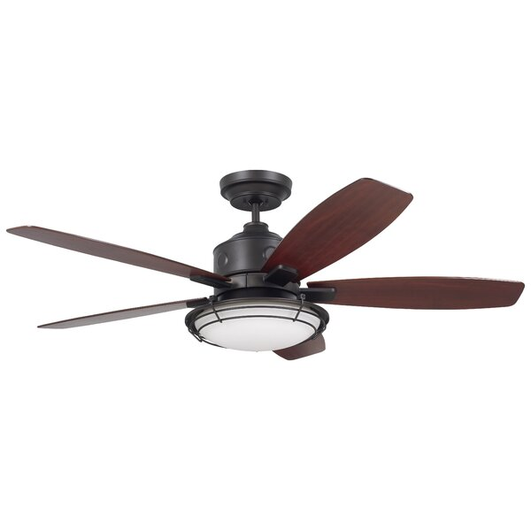 54 Jeanine 5 Blade Outdoor Ceiling Fan by Longshor