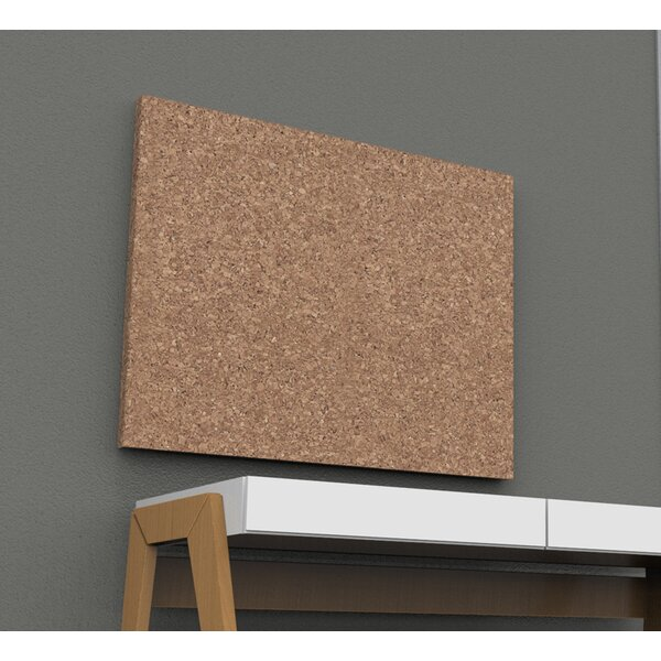 Wall Mounted Bulletin Board, 36 x 46 by Iceberg Enterprises