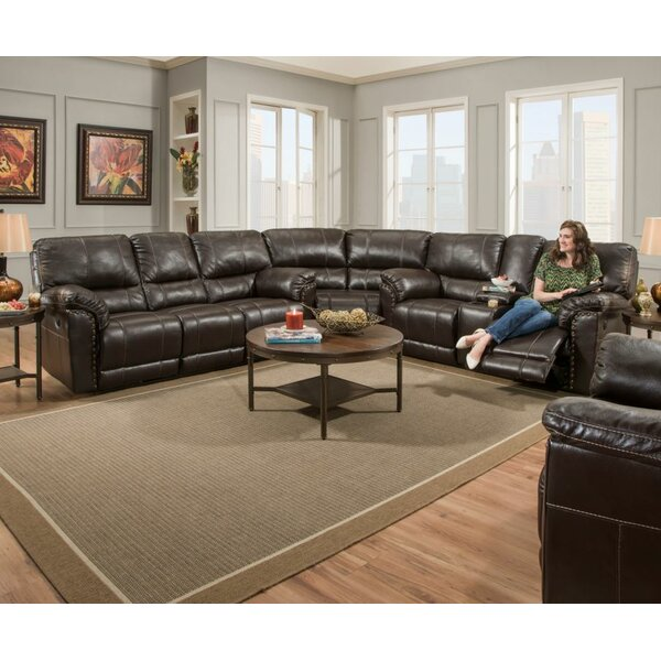 Check Out Our Selection Of New Mcglone Reversible Reclining Sectional by Alcott Hill by Alcott Hill