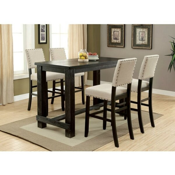 Duley 5 Piece Pub Table Set by Gracie Oaks