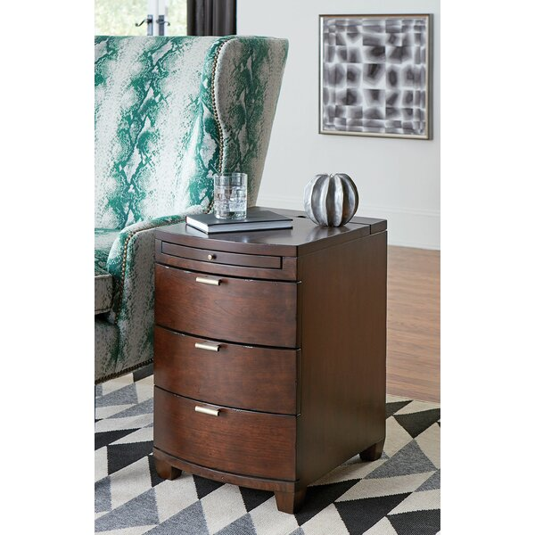Mccann 3 Drawer Nightstand by Darby Home Co