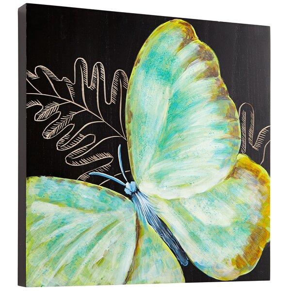 Papillon Graphic Art by Cyan Design
