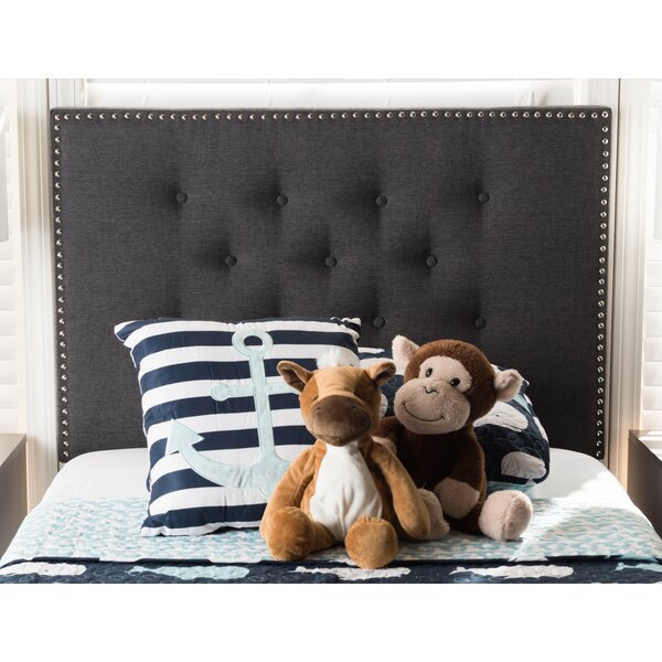 Planas Upholstered Panel Headboard by Wrought Studio