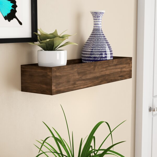 Foxwell Wood Wall Shelf by Wrought Studio