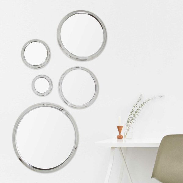 Heikkinen 5 Piece Mirror Set by Orren Ellis