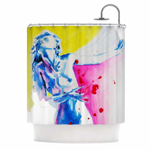 Cecibd Painful Love Shower Curtain by East Urban Home