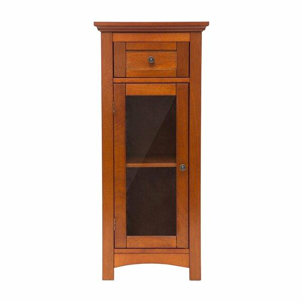 Varney Wooden Floor 1 Door Accent Cabinet