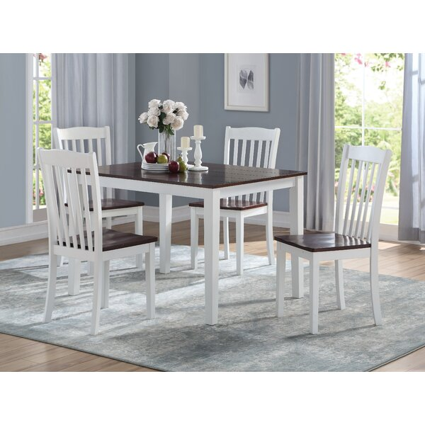Hamm 5 Piece Dining Set by Red Barrel Studio