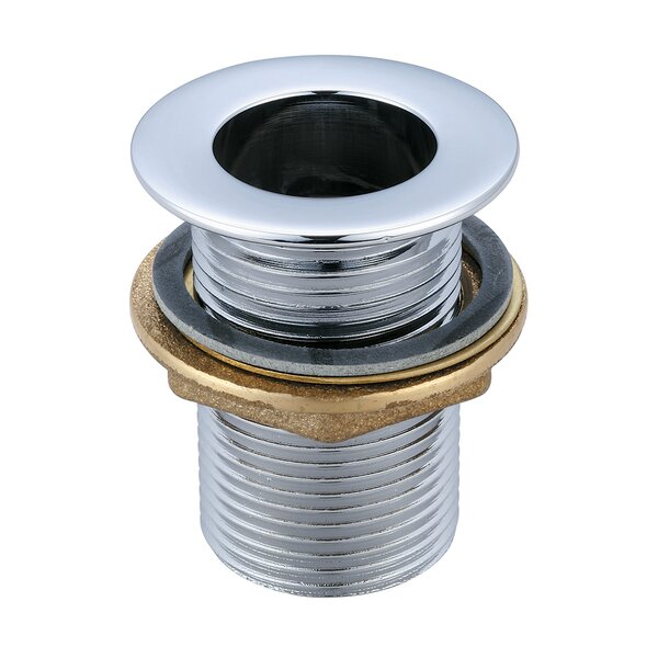 Socket 0Pop-Up Bathroom Sink Drain with Overflow by Central Brass