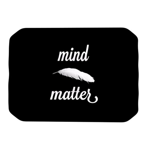 Mind Over Matter Placemat by KESS InHouse