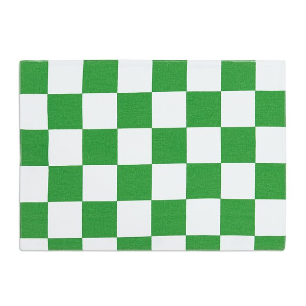 Taliyah Green/White Placemat (Set of 4) by Winston Porter