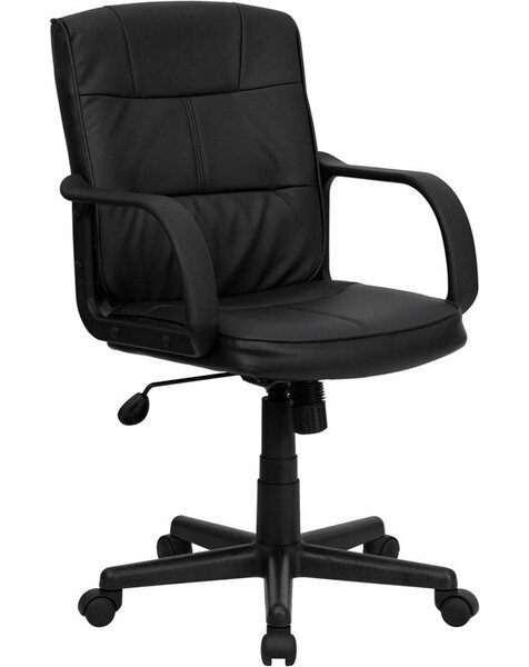 Kropp Mid-Back Swivel Office Chair by Symple Stuff