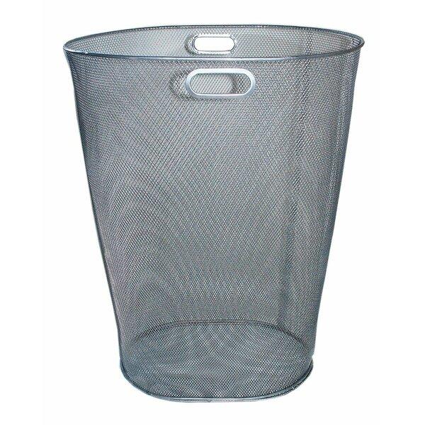 Steel 12 Gallon Trash Can by YBM Home