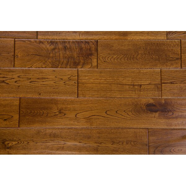 Thames 5 Solid Oak Hardwood Flooring in Pecan by Branton Flooring Collection