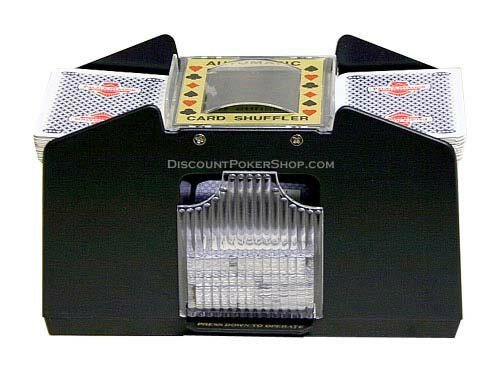 4 Deck Automatic Card Shuffler by JP Commerce