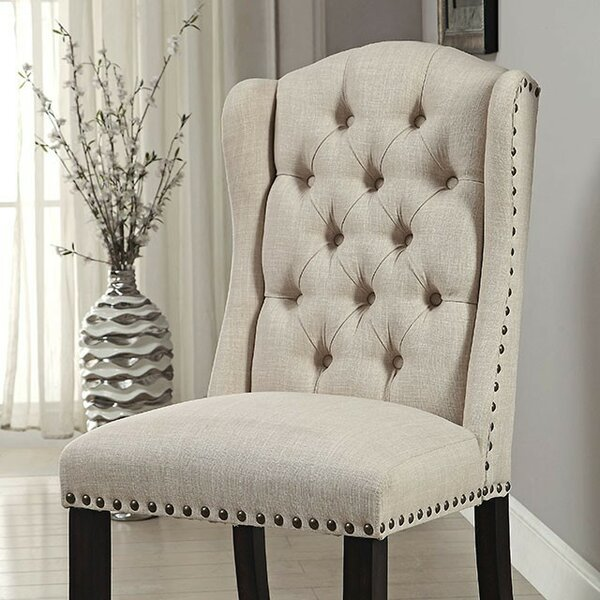 Artis Upholstered Dining Chair (Set of 2) by Canora Grey