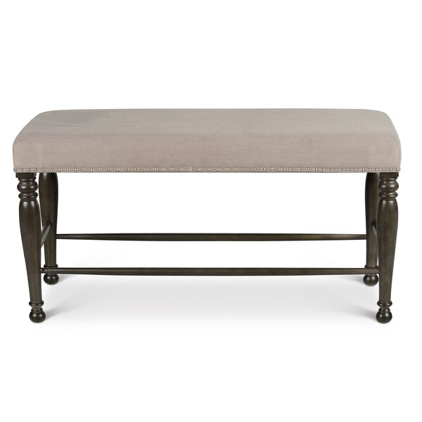 Oakton Upholstered Bench by Astoria Grand