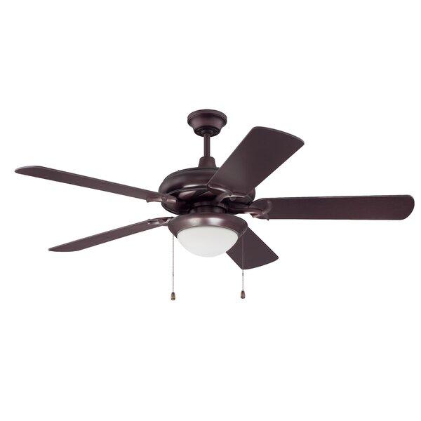 52 Harner 5 Blade LED Ceiling Fan by Alcott Hill