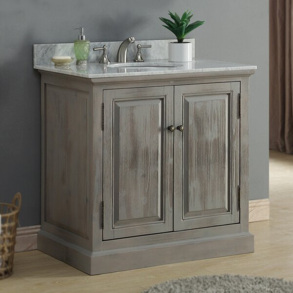 37 Single Bathroom Vanity Set by InFurniture37 Single Bathroom Vanity Set by InFurniture